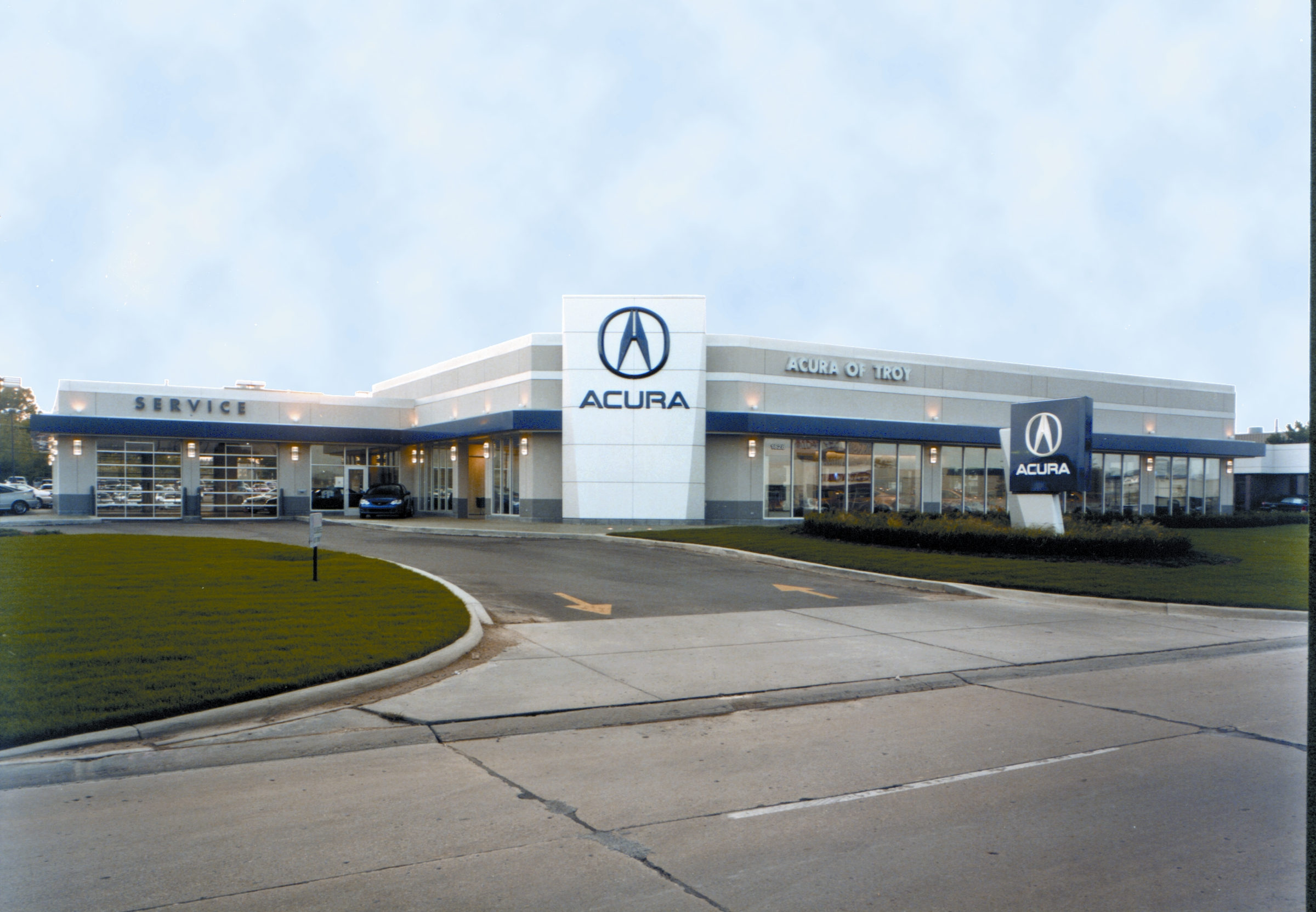 Acura Of Troy >> Acura Of Troy Monahan Construction
